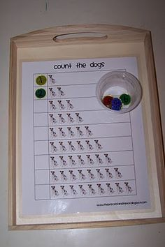 Counting game work task