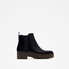 FLAT TRACK ANKLE BOOTS-Ankle boots-Shoes-WOMAN | ZARA United States
