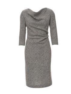 burda style, Schnittmuster - Schräg zugeschnittenes Kleid mit Wasserfallkragen, Nr. 118 A aus 10-2012