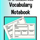 FREE! Help your kids understand vocabulary words that are self-selected during Reading Workshop, or addressed as a whole class!  They will love having th...