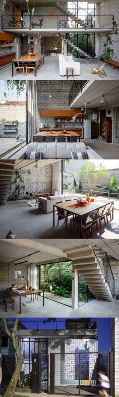 Maracana house in Sao Paulo,Brazil, by Brazilian architects Terra e Tuma |