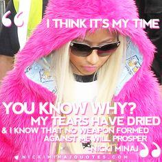 No Weapon Formed | Nicki Minaj Quotes #quotes #nickiminajquotes #nickiminaj