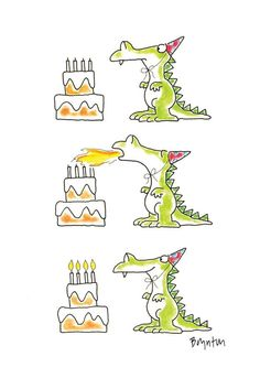 Birthday Dragon by Sandra Boynton