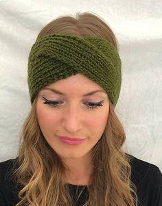 LaCelenka / Čelenka khaki zelená - turban