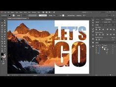 How to Create a Photo Mask in Adobe Illustrator So erstellen Sie eine Fotomaske in Adobe Illustrator Graphisches Design, Graphic Design Tutorials, Flat Design, Tool Design, Graphic Design Inspiration, Vector Design, Photoshop Design, Photoshop Tutorial, Photoshop Actions
