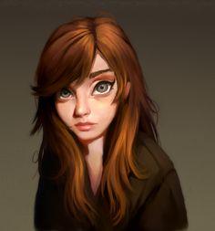Self Portrait by Iruuse on deviantART