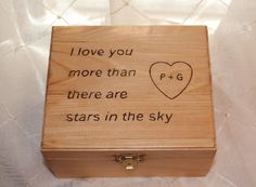 This wooden trinket box is a beautiful gift idea for any occasion. The trinket box measures approximately 6 inches by 5 inches and is 3 inches