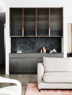 Hampton Penthouse, a glamorous coastal home designed by We Are Huntly #livingroom