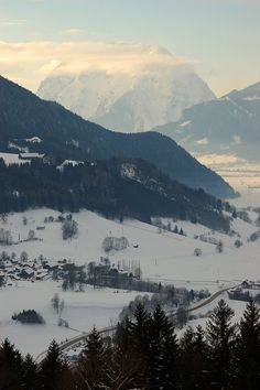 Styria, Austria - my grandparents' family home in mountains around Schladming