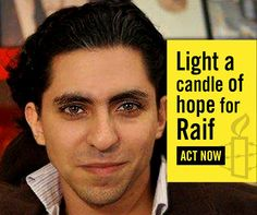 Canadian Minister of Foreign Affairs, Stéphane Dion, is meeting his Saudi Arabian counterpart today. This is an important opportunity to demand the freedom of Raif Badawi and shine a light on how Saudi Arabian authorities have silenced bloggers, activists and human rights defenders.  Shine a light of Hope to #FreeRaif > Human Rights Issues, Amnesty International, The Freedom, Take Action, Social Justice, Lashes, Acting, Author, Passion