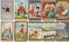 VINTAGE COLES SWAP CARDS - 10 SINGLE -  SCRATCH AND DENT - POOR CONDITION SOLD $103.00