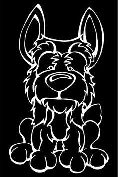 Australian Terrier Decal Dog
