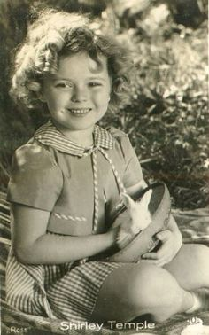 """I could not wait to watch all her shows when I was little.  """"Shirley Temple""""...."""