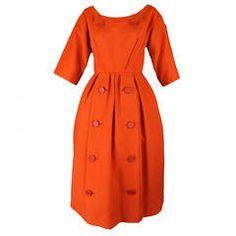 c.1958 Christian Dior Silk Dress