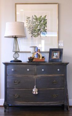 dresser paint color: urbane bronze