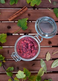 Korzenny chutney z agrestu / Spicy gooseberry chutney