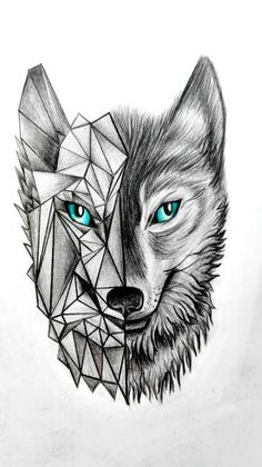 wolfs are such beautiful animals ..