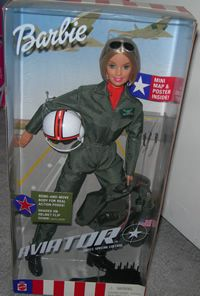 I really want this Air Force pilot Barbie. I need to find this for my sis!