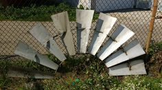Authentic Half Windmill; Authentic Windmill; Vintage Windmill; Windmill Blades; Rustic Windmill; Half Windmill by LynnMichelleDesign on Etsy