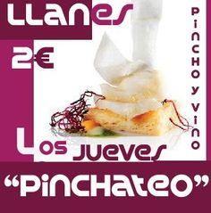 Los #jueves en #Llanes, estamos de #pinchoteo.