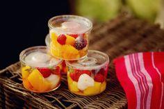 salada de frutas para picnic
