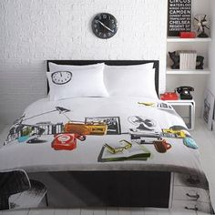 White Desk Bed Spread by Ben De Lisi, found at Debenhams and soon to be mine!