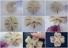Fiore di pane ripieno