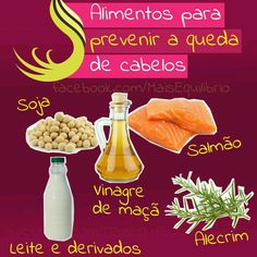 Queda de Cabelos: Alimentos para prevenção