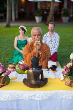 #HoiAnEventsWeddings #BuddhistBlessing #VietnamBeachWeddings