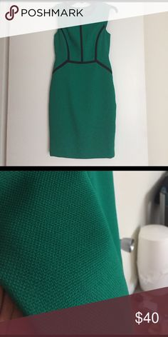 Petite green dress Never been worn in great condition The Limited Dresses Midi