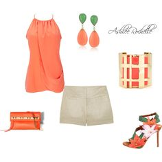Tangerine, created by ashlee470 on Polyvore