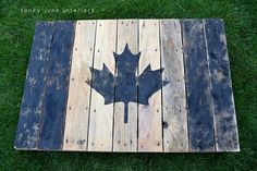 proud to be CANADIAN  my table for back yard next summer