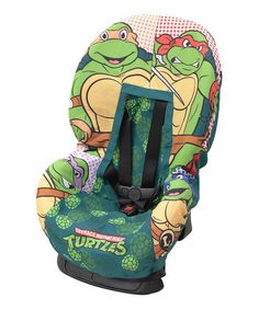 Chaise will absolutely LOVE this! #christmasgift  Teenage Mutant Ninja Turtles Car Seat Cover on #zulily! #zulilyfinds