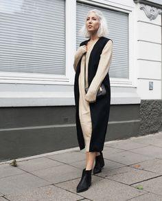 Long Knit, Long Pulli, asos, oversized, Knit, Knitwear, Jumper, House of Sunny, Vest, vegan Style, ootd, lotd, Look, Outfit, Streetstyle, Fashion, Blog, stryleTZ