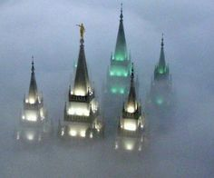 Salt Lake City, LDS Temple. Never ceases to inspire no matter what the weather is outside.