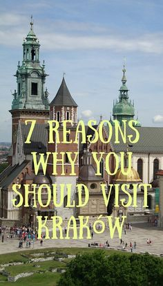 If you're planning a weekend getaway or a longer European adventure you should definitely have one thing on your itinerary and that's to visit Kraków. Things to do in Krakow, Poland