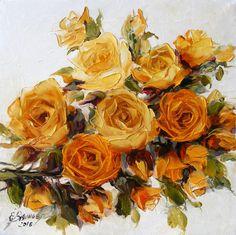 Catawiki online auction house: Elena Bissinger - Flowers - Dutch garden