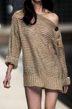 Porque #trico também é #fashion! #moda #CoatsCorrente