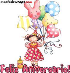 Feliz Aniversario Para Amiga   Amiga, feliz aniversário   Recados para Facebook e Orkut