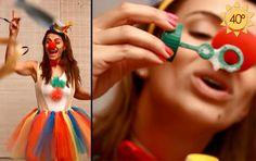 Aprenda a fazer uma fantasia de palhacinha para o carnaval (Foto: EGO)