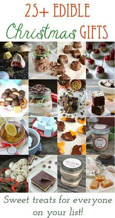 25  Edible Christmas Gifts