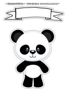 Uau! Veja o que temos para Topo de Bolo Panda