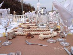 Original centro de mesa para tu boda en playa Nuestros Clientes Bodas Huatulco