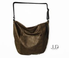 Soft leather bag hobo leather bag-Valentine SALE womens by JUDtlv