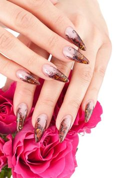 The newest pretty nail designs Nail Designs 2014, Crazy Nail Designs, Pretty Nail Designs, Acrylic Nail Designs, Crazy Nails, Fun Nails, Hipster Nail Art, Nail Photos, Best Acrylic Nails