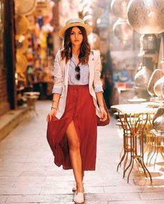16 Trendy Ideas For Travel Outfit Summer Spain Street Styles Spain Fashion, Look Fashion, Fashion Outfits, Travel Outfits, Travel Fashion, Stylish Outfits, Cute Outfits, Work Outfits, Outfits Spring