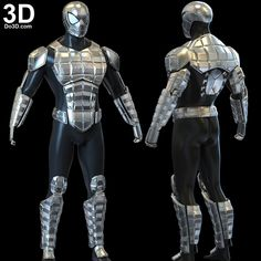 Spiderman Suits, Spiderman Costume, Spiderman Art, Iron Man Suit, Iron Man Armor, Spider Man Trilogy, Nightwing Cosplay, Spider Man Unlimited, 3d Printable Models