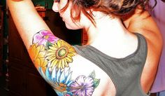 25 Amazingly Colorful Tattoos - http://www.allnewhairstyles.com/25-amazingly-colorful-tattoos.html