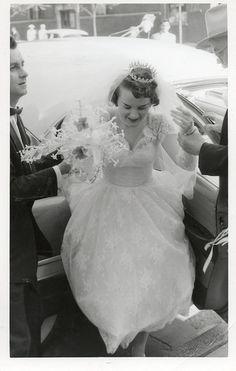 Chic Vintage 1950s Bride