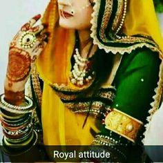 DARBARI ATTITUDE Indian Attire, Indian Wear, Casual Dress Outfits, Fashion Outfits, Rajput Quotes, Rajasthani Dress, Rajputi Dress, Designer Blouse Patterns, Royal Dresses
